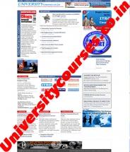 University Courses India