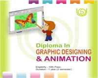 Diploma in Graphic Design, Graphic Design Diploma Courses, Graphic Designing Training Institutes Indore