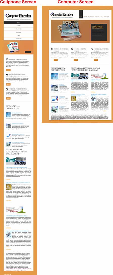 Responsive Website Design, Adaptive Website Design, Resposive Template Design, Adaptive Template, Responsive CMS websites, Adaptive CMS website design